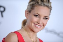 KATE HUDSON at The amfAR Inspiration Gala