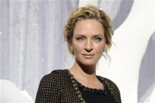 U.S. actress Thurman attends Spring/Summer 2012 women's ready-to-wear collection show by designer Lagerfeld for French fashion house Chanel in Paris
